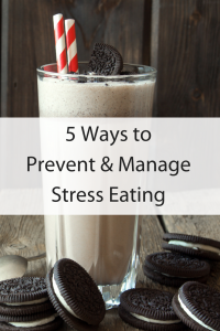 Prevent & Manage Stress Eating